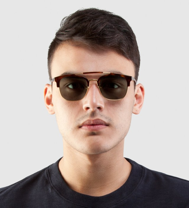 SUPER BY RETROSUPERFUTURE 49er Havana Sunglasses