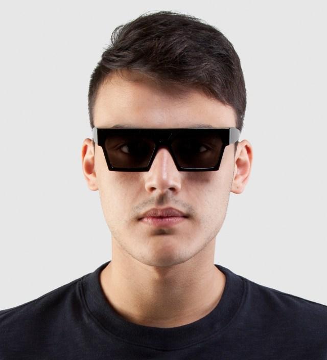SUPER BY RETROSUPERFUTURE Luciano Black Sunglasses