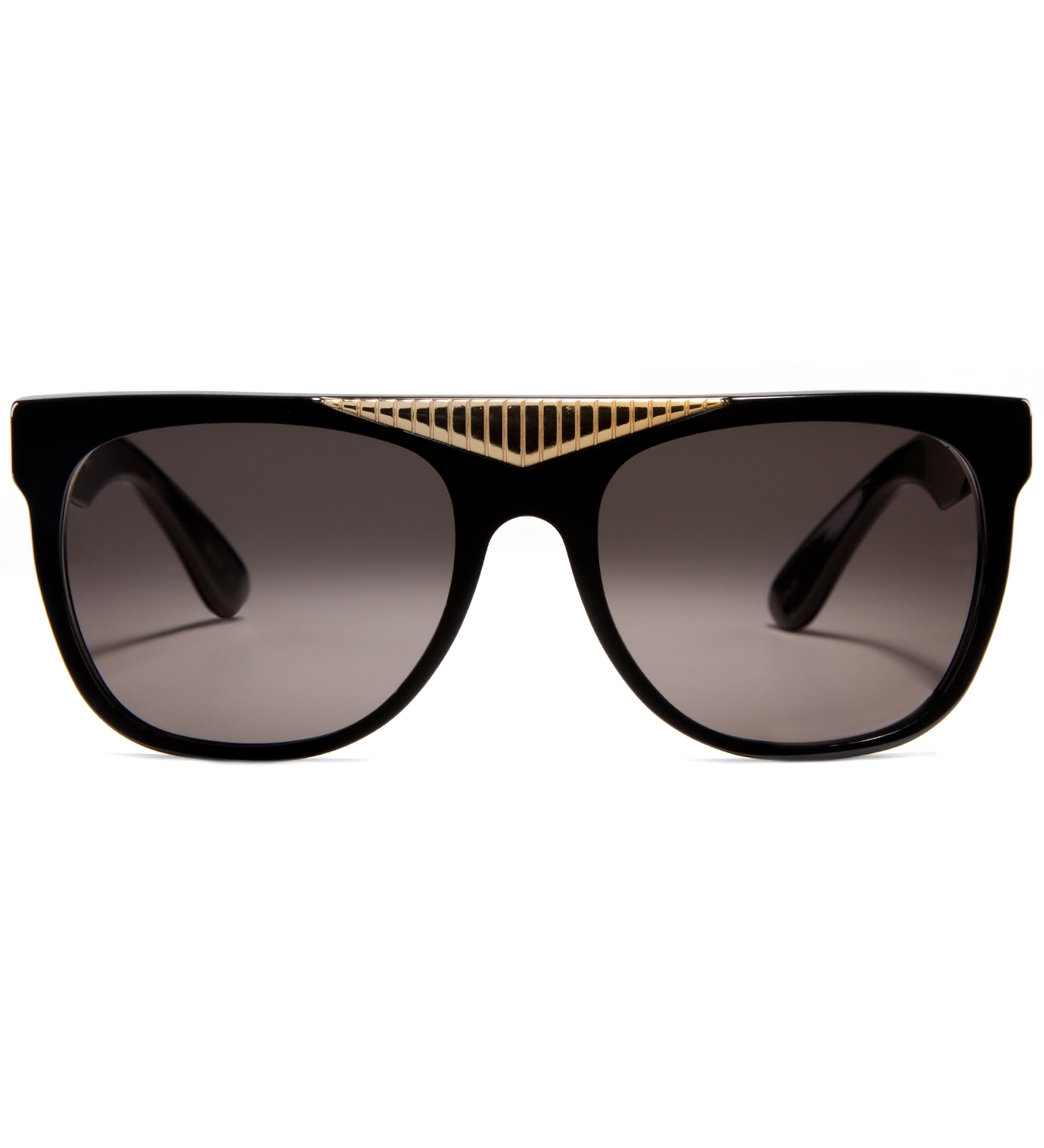 SUPER BY RETROSUPERFUTURE Gino Black Sunglasses