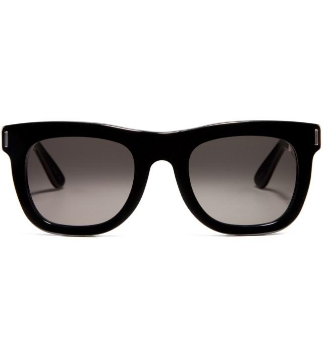SUPER BY RETROSUPERFUTURE Ciccio Silver Francis Black Sunglasses