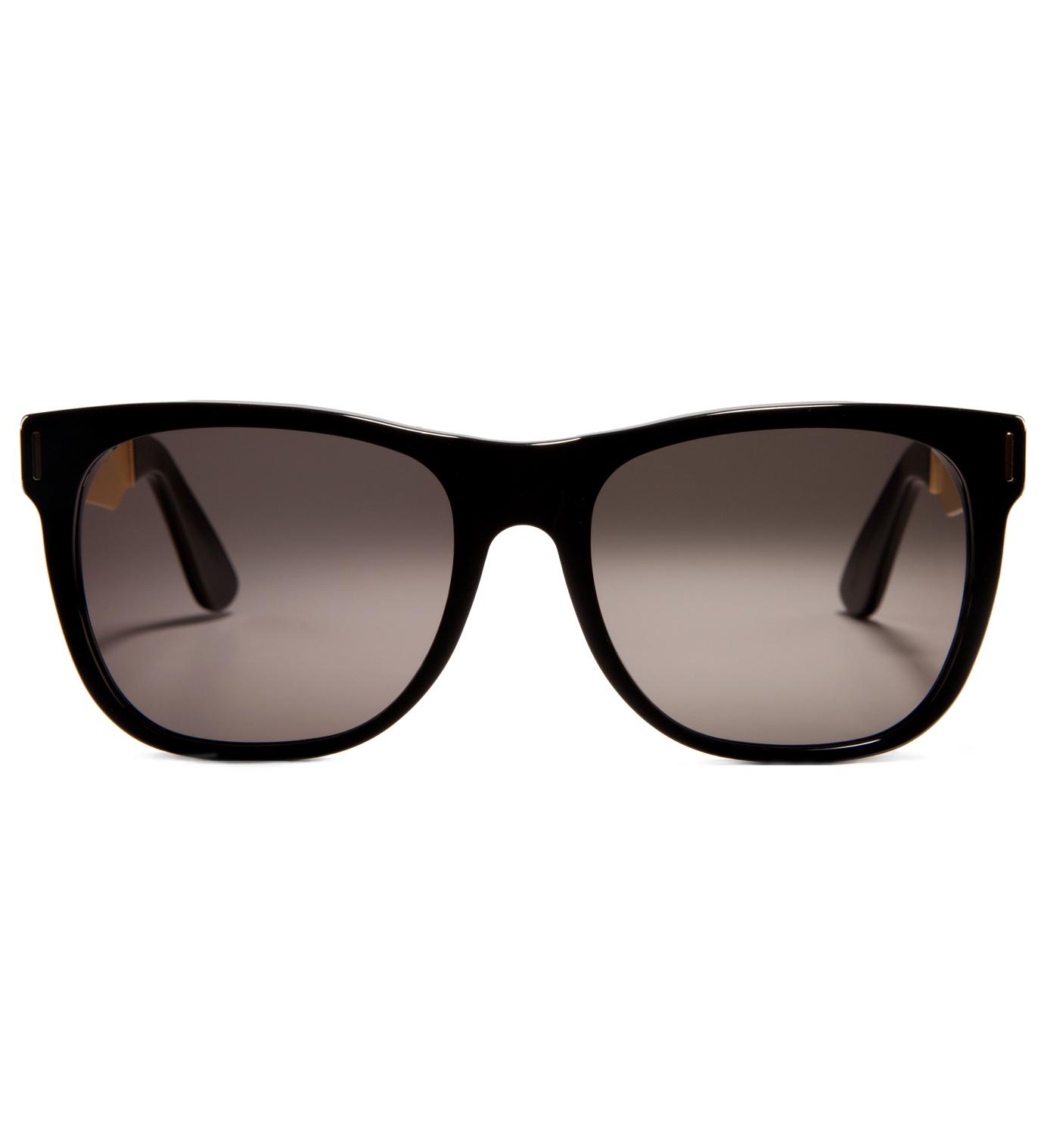 SUPER BY RETROSUPERFUTURE Classic Francis Black Sunglasses