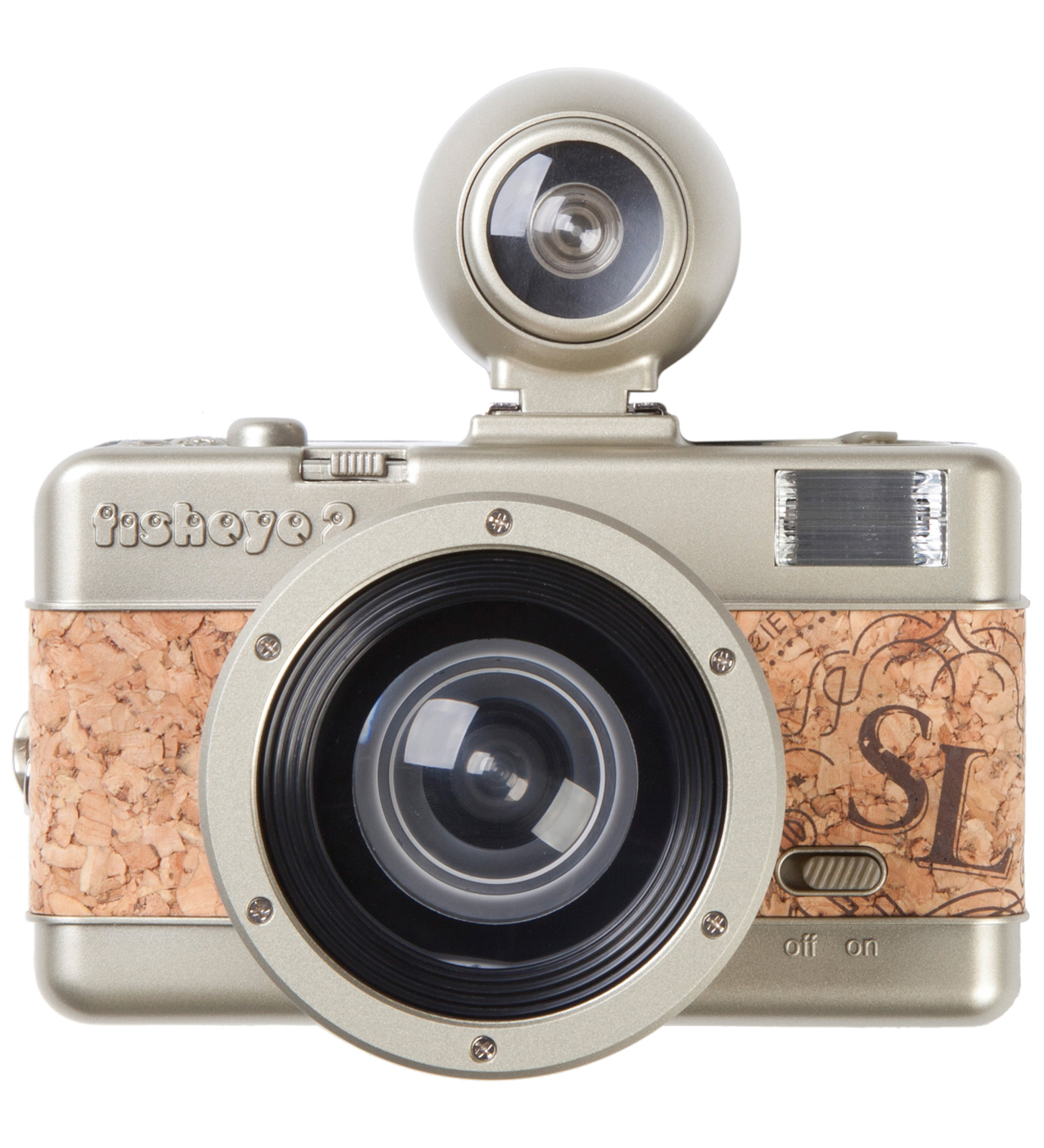 Lomography Fisheye No.2 Camera - Sparkling