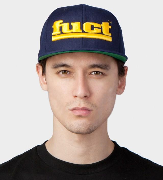 FUCT Navy OG Logo Snapback