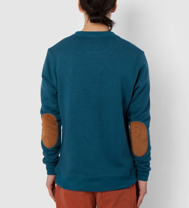BWGH Petrole/Brown Brooklyn Parle Francis Sweater