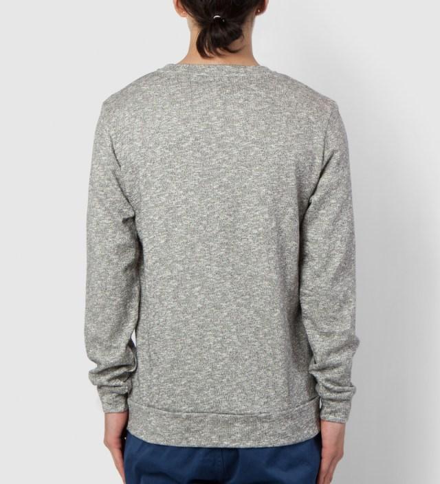 BWGH Grey/White Basket Sweater