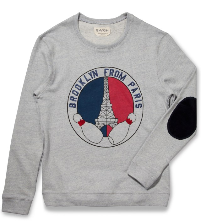 BWGH Grey Paris Sweater