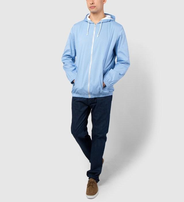 Hentsch Man Blue Stripe Sports Jacket