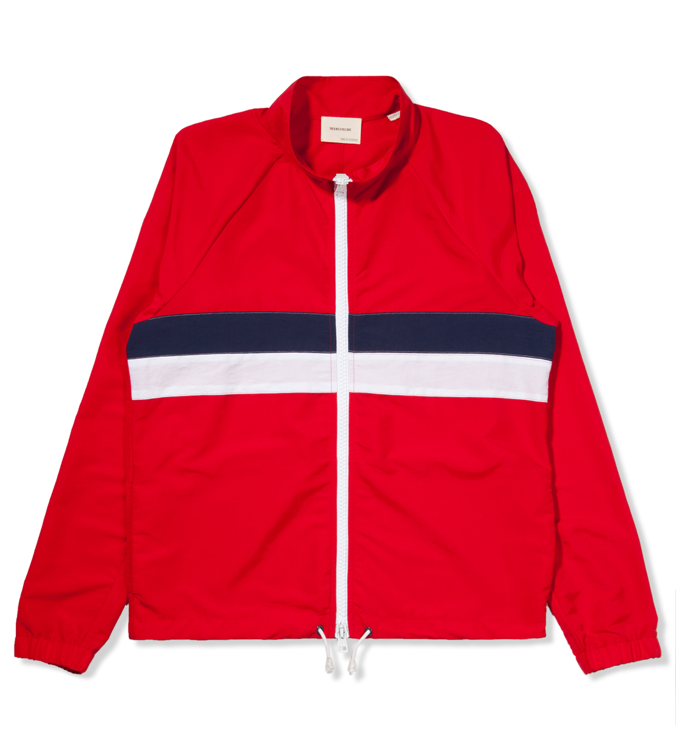 Band of Outsiders Red Windbreaker