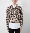 Mark McNairy Leopard Jean Jacket