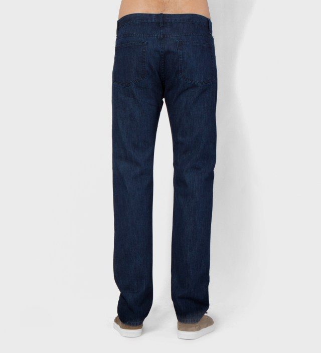 Hentsch Man Dark Denim Trouser Pant