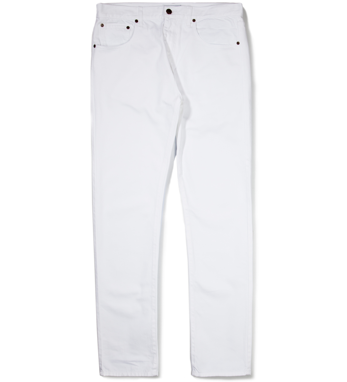 Hentsch Man White Denim Trouser Pant