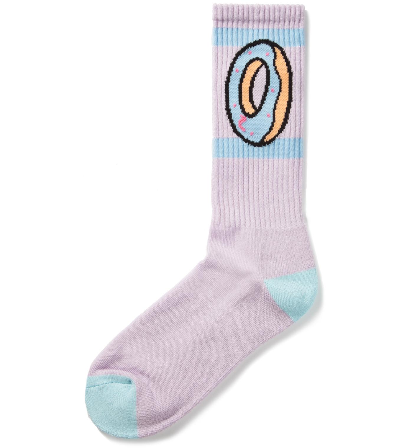 Odd Future Lilac OF Donut Socks
