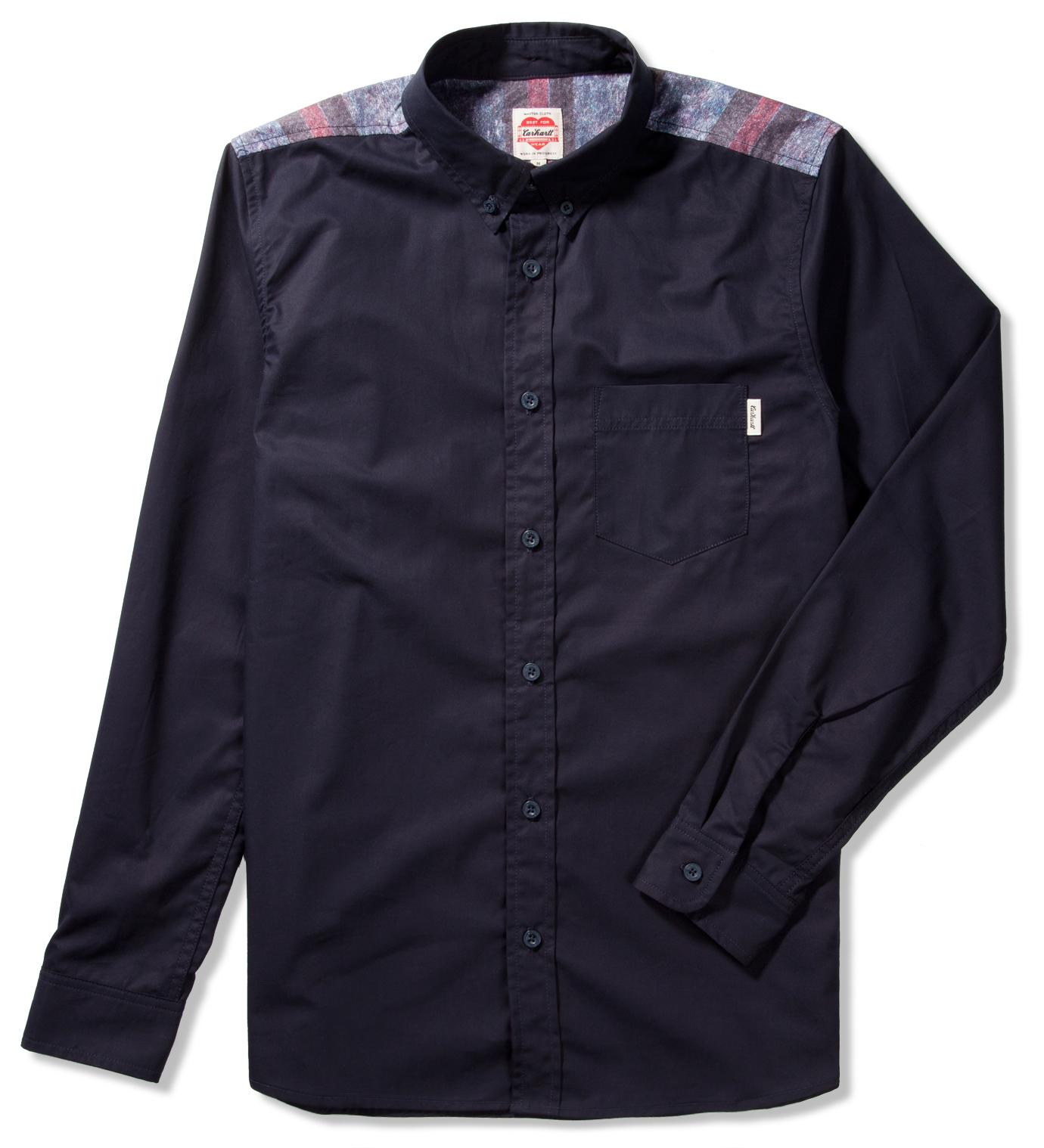 Carhartt Heritage Heritage Dark Navy Baily Shirt