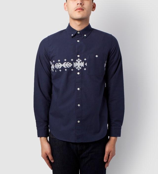 Carhartt Heritage Dark Navy Mable Shirt