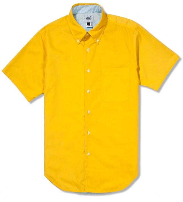 Mark McNairy Yellow/Sky SS Reversible BD Shirt