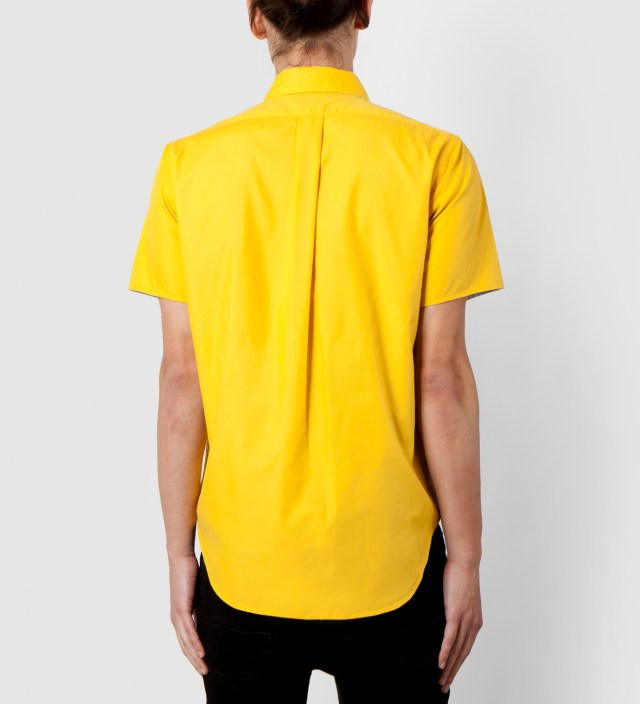 Mark McNairy Yellow/Sky SS Reversible BD Shirt