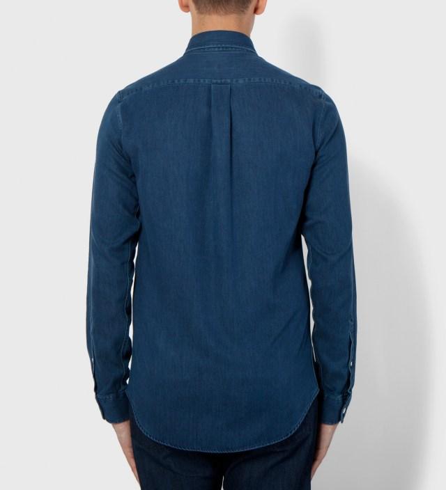 Hentsch Man Dark Denim Lumber Shirt