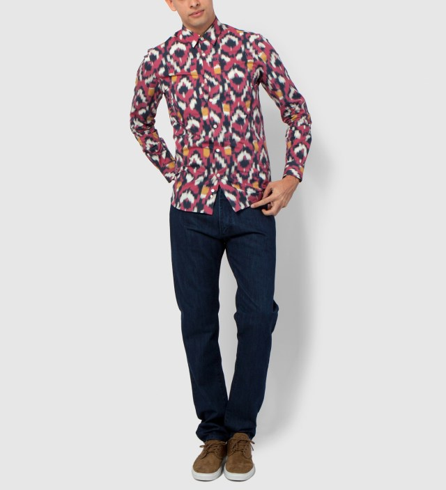 Hentsch Man Ikat Friday Shirt