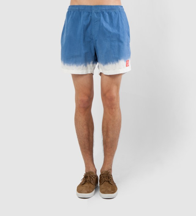Warriors of Radness Blue Waters Whitewash Shorts