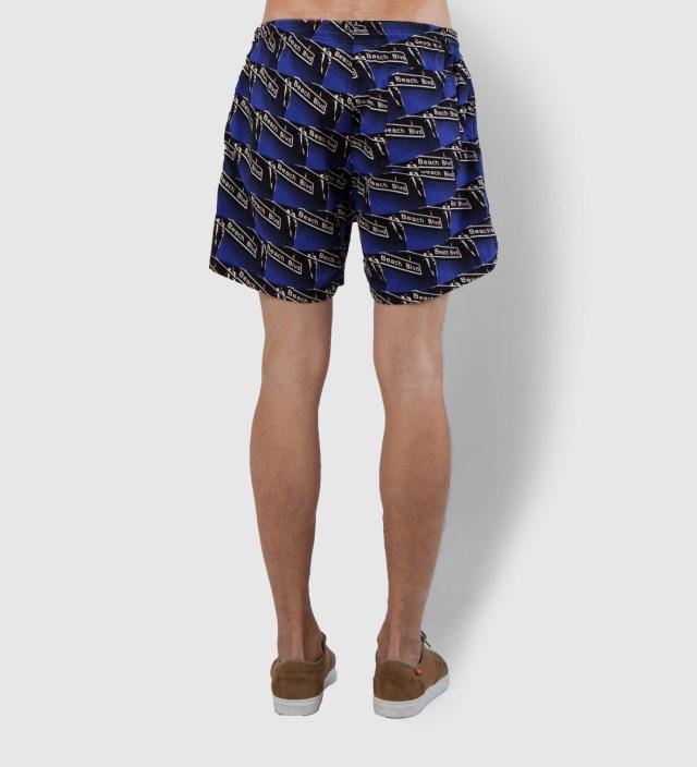 Warriors of Radness Blue Beach Blvd Shorts