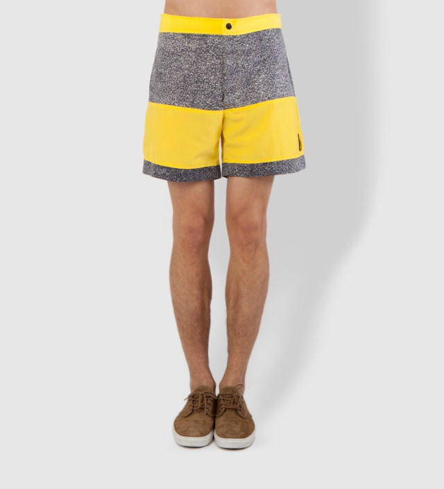 Warriors of Radness Yellowish Apricot Prism Shorts