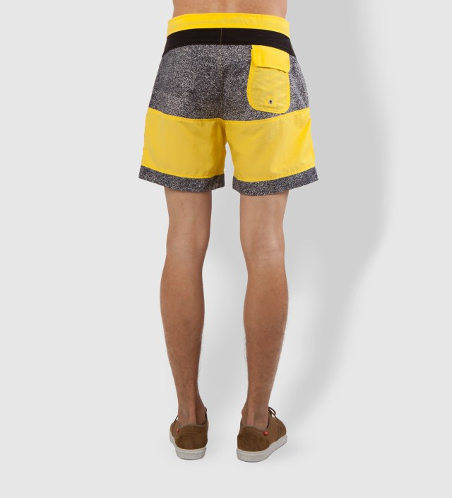 Warriors of Radness Yellowish Apricot Prism Shorts