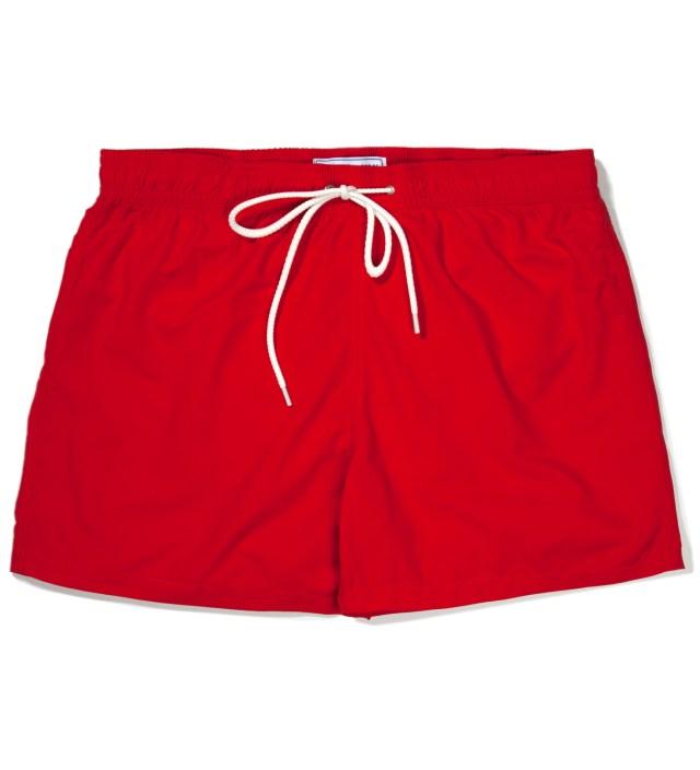 Hentsch Man Red Swimmers Swim Trunks