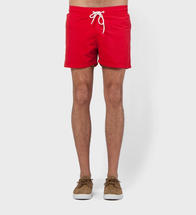 Hentsch Man Red Swimmers Swim Trunks