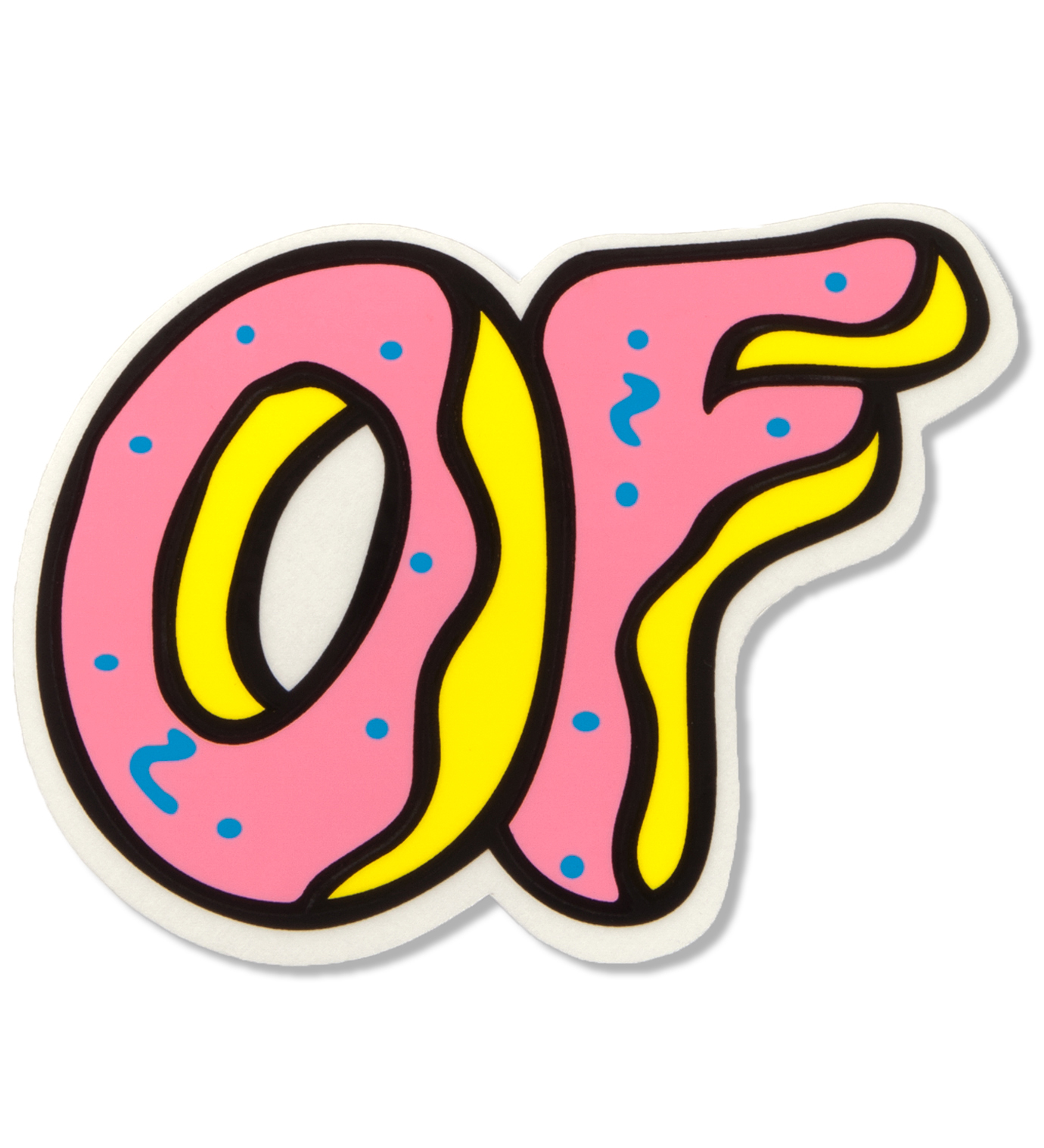 Odd Future OF Donut Sticker
