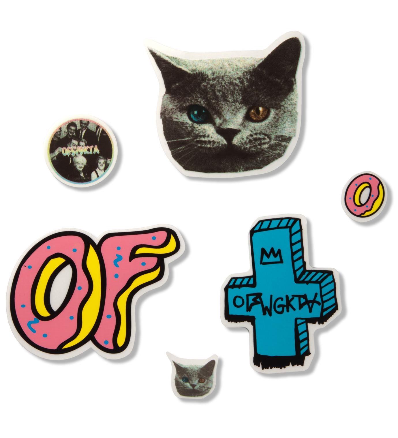 Odd Future OF Sticker Variety Sticker Pack