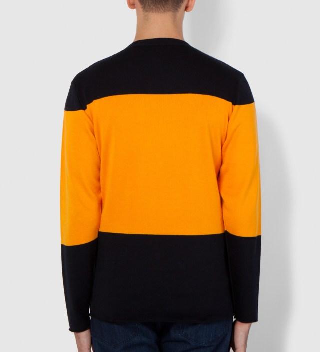 Hentsch Man Navy/Yellow Marni Block 2 Sweater