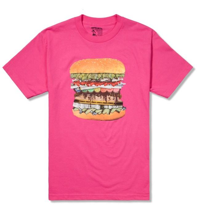 Odd Future Hot Pink Drug Burger T-Shirt