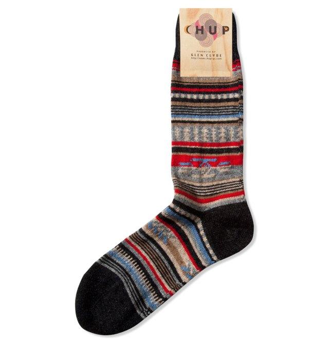 CHUP Charcoal Chinle Socks