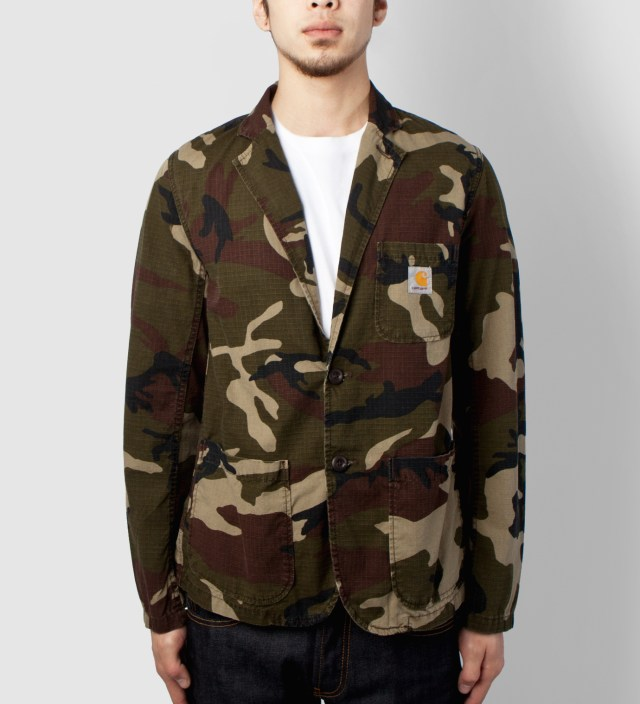 Carhartt WORK IN PROGRESS Camo Morass Cane Blazer