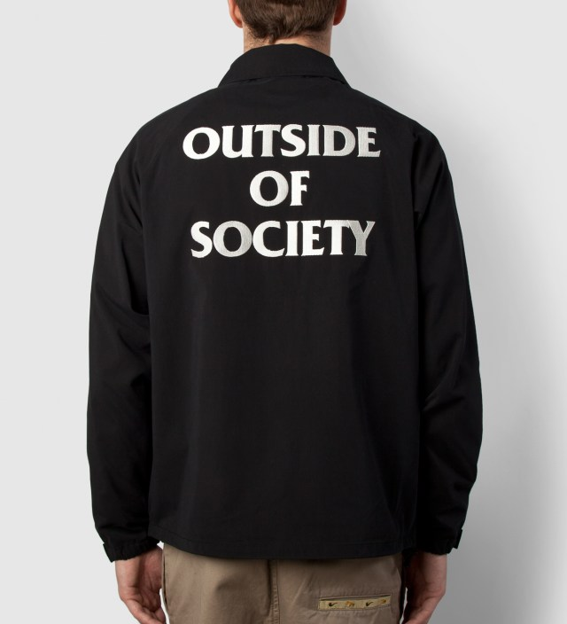 FUCT SSDD Black SSDD Outside Of Society Windbreaker