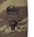 Stussy Olive Skull Crown Pullover Hoodie