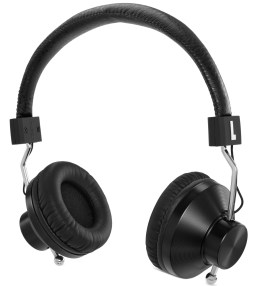 eskuché Black 45Sv2: DJ/Studio Monitor On-Ear Headphone With 1 Button Mic Picture