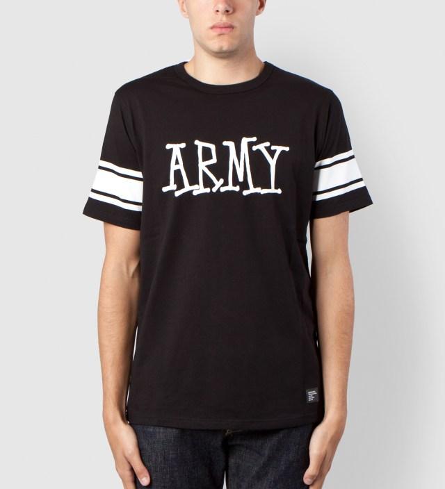 Stussy Black Army Crew Shirt