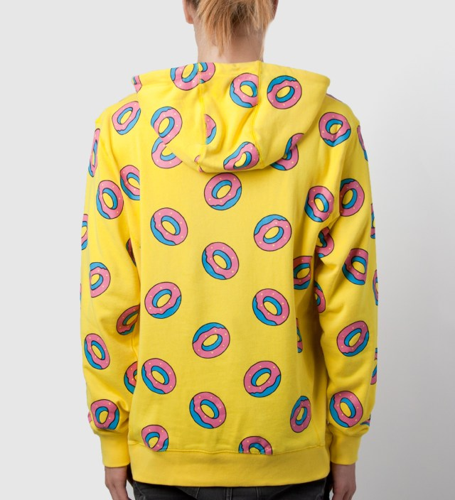 Odd future yellow donut hoodie