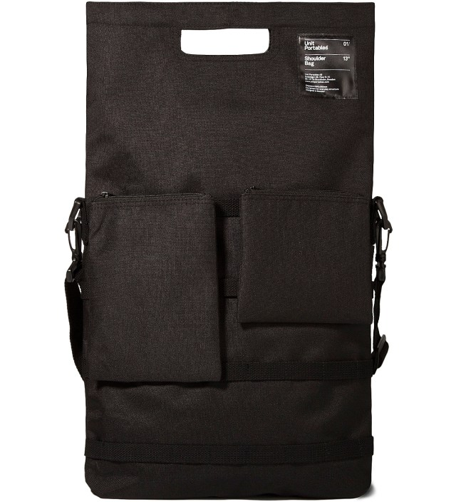 "Unit Portables Black 13"" Shoulder Bag"