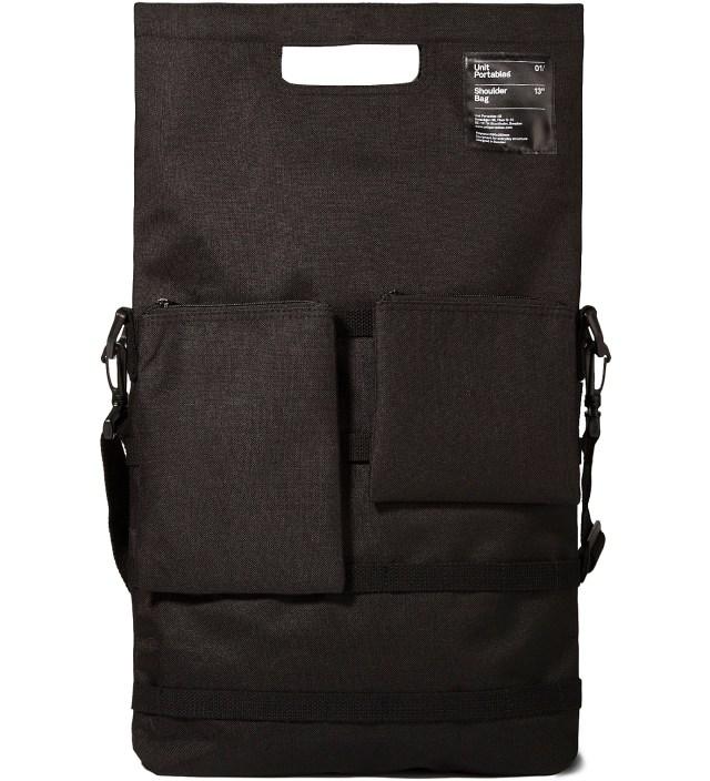 "Unit Portables Black 13"" Shoulder Bag"