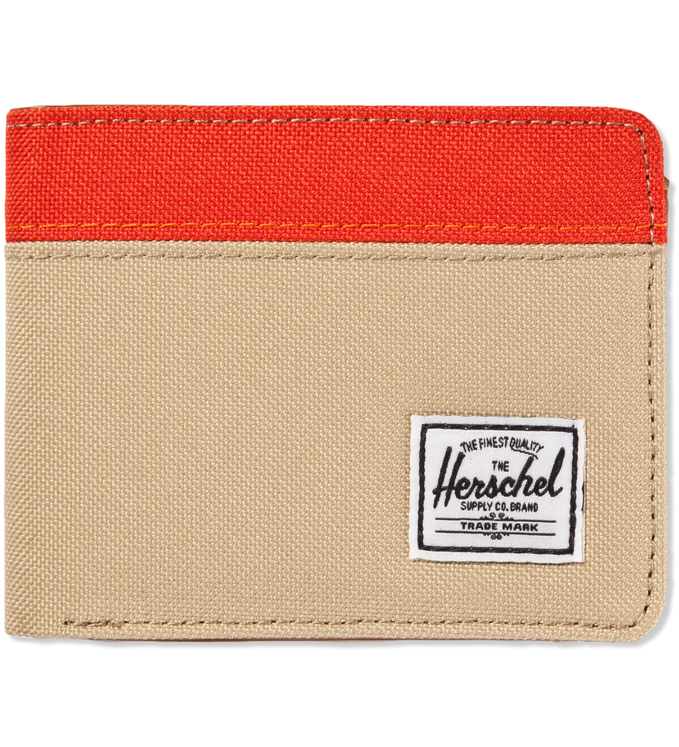 Herschel Supply Co. Khaki/Camper Orange Hank Wallet