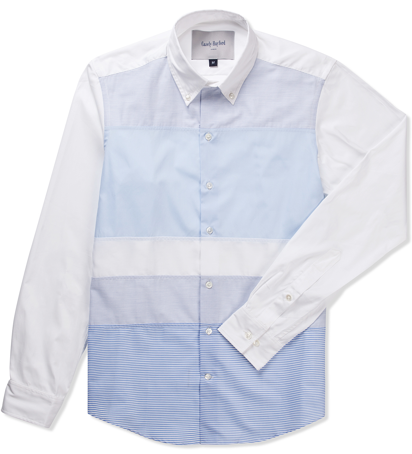 Casely Hayford Pale Blue Blue Stripe White Stanway Color