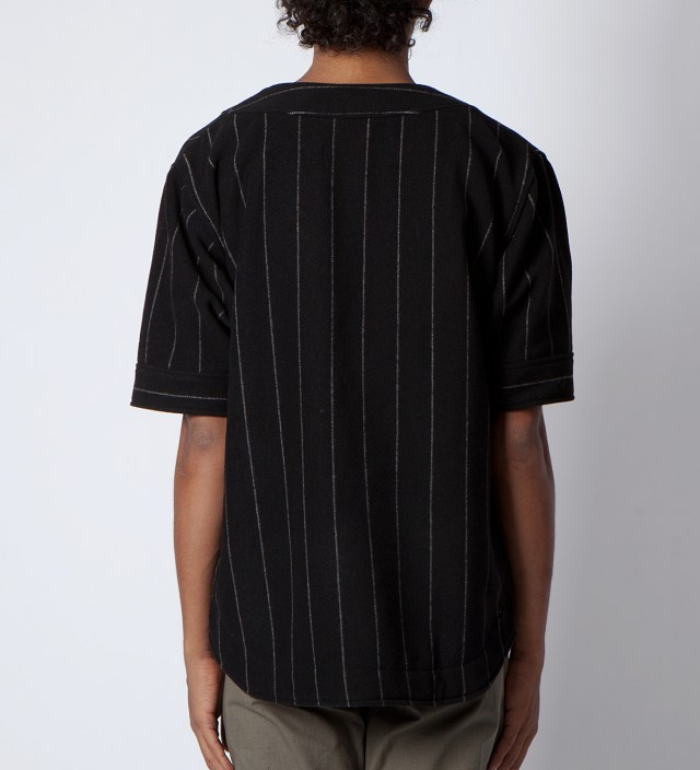 clothsurgeon Black M.F.Y Wool Baseball Jersey