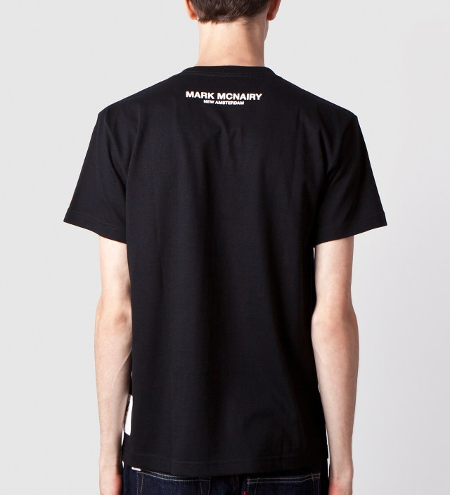 Mark McNairy for Heather Grey Wall Black Hey Hey My My Print T-Shirt