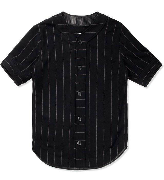 clothsurgeon Black M.F.Y Wool Baseball Jersey