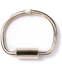 Miansai Polished Naomi Brass w/ Brass Bracelet Picture