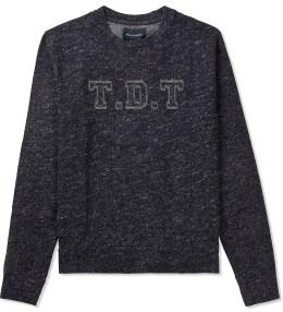 Tourne de Transmission Black/White TDT Branded Sweater Picture