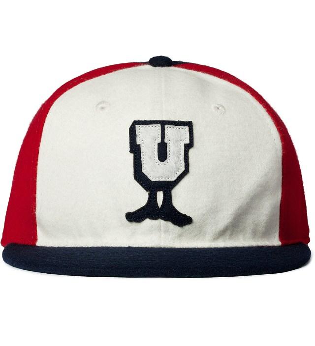 Undefeated White U-Man Ebbets Ballcap