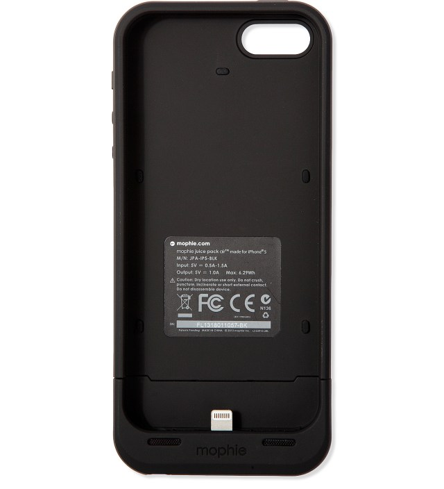 mophie juice pack iphone 5 mophie black juice pack air for iphone 5 5s hbx 6336